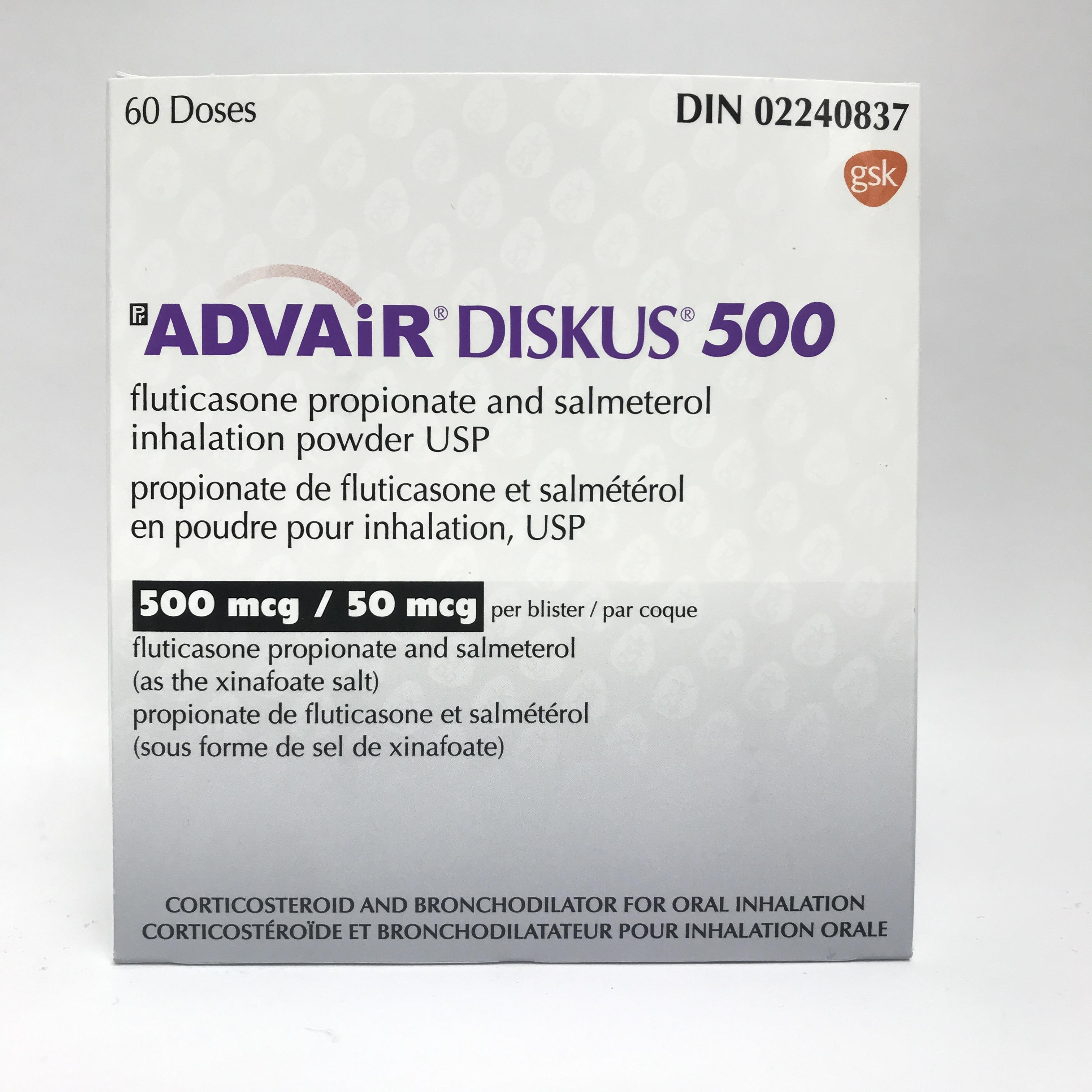 Buy Advair Diskus 500mcg 50mcg From Canada Cloud Pharmacy The Most Trusted Canadian Pharmacy